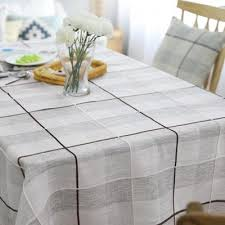 grid pattern the dinner table cover