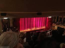 Shubert Theatre Mezzanine View From Seat Best Seat Tips