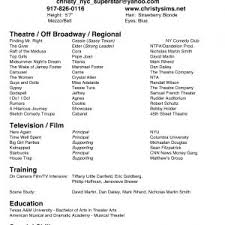 theater resume template template free theater resume template sweet payload99cargocollectivecom192958614296082m payload99cargocollectivecom192958614296082m beginner acting resume sample