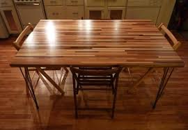 butcher block dining table. DIY Dining Table - Butcher Block A