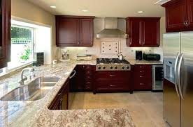 cherry cabinets with granite countertops colonial white granite countertops with cherry cabinets