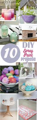 10 diy home decor spray paint projects