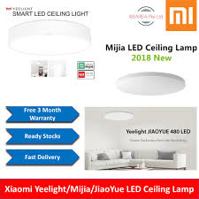 Xiaomi2019 Xiaomi Yeelight Mijia Jiaoyue Smart Led Ceiling Lamp 3 Mth Warranty Cheapest In Town
