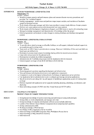 Filenet Administrator Sample Resume Websphere Administrator Resume Samples Velvet Jobs 1