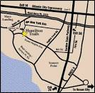 Ocean City New Jersey Golf Course | Golf Course Area Map of ...