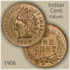Indian Penny Value Chart 1906 Indian Head Penny Value Discover Their Worth