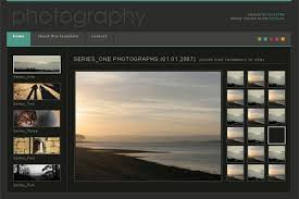 Free Photography Website Templates Extraordinary Cool Photography Website Templates Free Photography Website