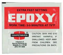 Hardman Epoxy Chart Hardman Epoxy Fast Set