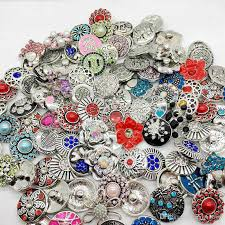 whole mix style snap cham on interchangeable 18mm diy ginger snap jewelry fit snap charm bracelets pendant ring etc 925 silver birthstone charms