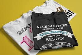 Geburtstag T Shirts Jahreszahlen Geburtsjahr Und Lustige Sprüche