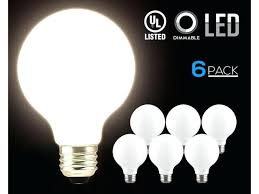 frosted glass lens led globe light bulbs equiv glowing frosted glass lens for decorative warm white