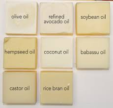 Soap Oil Properties Chart Single Oil Soaps Learning Saponified Properties Of
