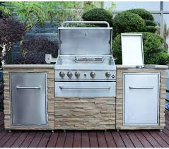 gas grill island barbecue bbq outdoor kitchen stainless steel sink storage units for