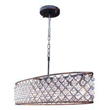 oil rubbed bronze crystal chandelier. Interesting Oil Shop Cassiel Oilrubbed Bronze Oval Crystal Chandelier  Free Shipping  Today Overstockcom 16171907 To Oil Rubbed