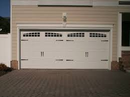 white wood garage door. Beautiful 12×7 Garage Door For Any You Needed: Brick Pavers With White Wood