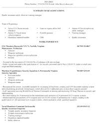 Resume Security Clearance Example Best Of Military To Civilian Resume Examples Aviation Electrical Maintenance