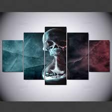 <b>YSDAFEN 5 panel Modern</b> until dawn hd Art print canvas art wall ...