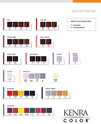 Guy Tang Permanent Color Chart Kenra Hair Color Chart Sbiroregon Org