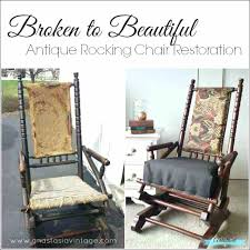 vintage wooden rocking chair interior old chairs for elegant child s bentwood
