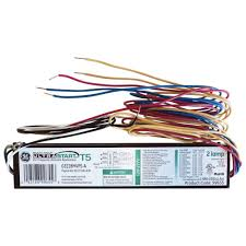ge 120 volt electronic ballast for 4 ft 2 lamp t8 fixture ge232  at Ge B240r120rh Wiring Diagram