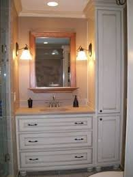 Custom bathroom cabinet ideas Ceiling Bathroom Cabinet Ideas For Basement Bathroom Pinterest 32 Best Bathroom Towers Images Bathroom Bathroom Remodeling