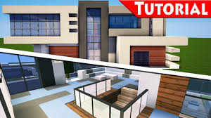 Minecraft Easy Modern House  Mansion Tutorial  Part - Modern house interior
