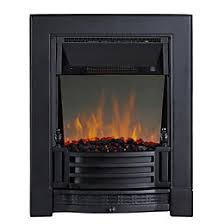 fires stoves electric gas fires wall hung inset diy at b q finsbury black led reflections inset electric fire