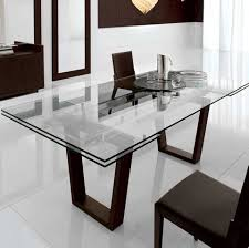 modern glass dining table. Simple Dining Dining Room Table With Extension Kasala Modern Bold  Glass And