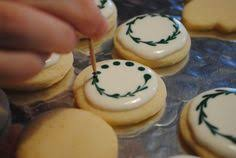 decorated round christmas sugar cookies.  Decorated I Spent A Lot Of Time Decorating Sugar Cookies This Week And Decided To  Experiment With Some Different Techniques Made These Pretty Little That  For Decorated Round Christmas Sugar Cookies T