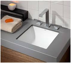 image of cheviot square undermount basin installed as undermount sink