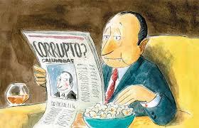 Resultado de imagen para prens corrupcion