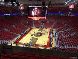 United Supermarkets Arena Section 222 Rateyourseats Com
