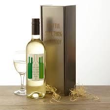 personalised chilean white wine