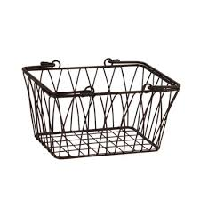 Spectrum Diversified Twist Storage Basket, Small, Bronze