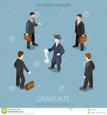 education future career headhunting isometric concept stock education future career headhunting isometric concept