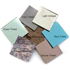 mirror cut to size cut to size bronze or grey tinted mirror glass 4mm square or
