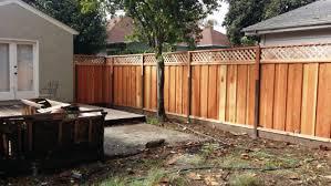 los gatos fence company redwood fences fence company san jose n36