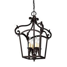feiss luminary 4 light chandelier