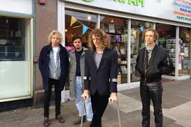 Indie rockers Mystery Jets popped into an Oxfam shop on their visit to  Newcastle - Chronicle Live