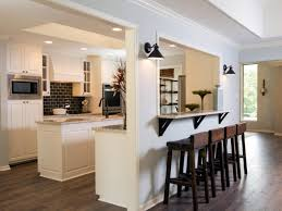cutout kitchen breakfast bar