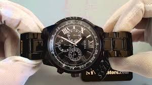 men s black guess chronograph watch u0379g2 men s black guess chronograph watch u0379g2