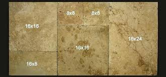 French Pattern Travertine Tile Country Classic Brushed Chiseled Installing Tiles