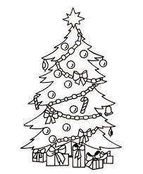 Small Picture Coloring Pages Tree And Elves Coloring Pages For Kids Printable