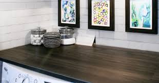 diy with style diy wood plank laundry room countertop blue i style creating an organized pretty happy home