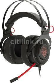 Купить Гарнитура игровая <b>HP OMEN 800</b>, черный / красный в ...