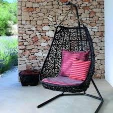 hammock swing chair stand black hanging with inside plans stands
