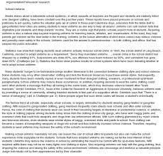 persuasive essay examples against school uniforms docoments ojazlink uniforms in school essay
