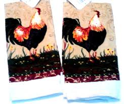 10 photos to rooster kitchen towels