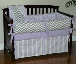 damask baby bedding good baby nursery stripes bed skirt with nice grey and white chevron purple damask baby bedding