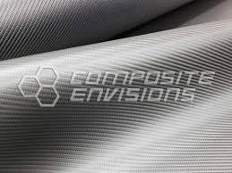 """<b>Carbon Fiber</b> """"<b>Leather</b>"""" - 2x2 Twill Matte Finish 660gsm / 19.46oz ..."""